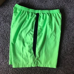 """Nike 9"""" running shorts XL"""